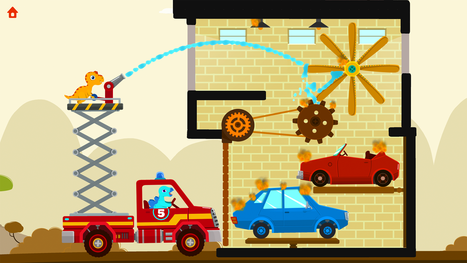 Fire Truck Rescue: Top Kids Games - Game Miners